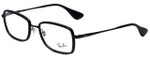 Ray-Ban Designer Eyeglasses RB6336-2509 in Black 53mm :: Progressive