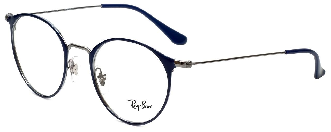 bffb1b5e8d Ray-Ban Designer Eyeglasses RB6378-2906 in Blue 49mm    Rx Bi-Focal ...