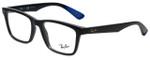 Ray-Ban Designer Eyeglasses RB7025-5581 in Dark Grey 53mm :: Rx Single Vision