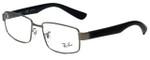 Ray-Ban Designer Eyeglasses RB6319-2620 in Gunmetal Black 55mm :: Rx Bi-Focal