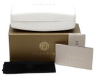 Versace Authentic Sunglass Case in White & Gold Box