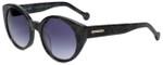 Jonathan Adler Designer Sunglasses Monte Carlo in Black