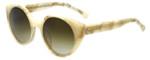 Jonathan Adler Designer Sunglasses Monte Carlo in Bone