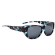 Jonathan Paul® Fitovers Eyewear Extra Large Allure in Blue Demi & Gray AU005