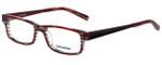 Converse Designer Eyeglasses City-Limits-Red-Stripe in Red Stripe 51mm :: Progressive