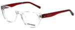 Converse Designer Reading Glasses Q014-Crystal in Crystal and Red 48mm