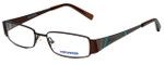 Converse Designer Eyeglasses Q003-Brown in Brown 50mm :: Custom Left & Right Lens