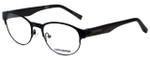 Converse Designer Eyeglasses Q030-Black in Black 49mm :: Rx Single Vision
