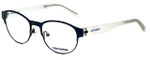 Converse Designer Eyeglasses Q030-Navy in Navy and Ice 49mm :: Rx Single Vision
