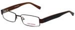 Converse Designer Eyeglasses Wait-For-Me-Brown in Brown 49mm :: Rx Single Vision