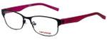 Converse Designer Eyeglasses K016-Black in Black and Pink 50mm :: Progressive