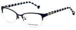 Jonathan Adler Designer Reading Glasses JA109-Navy in Navy 50mm