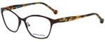 Jonathan Adler Designer Reading Glasses JA504-Brown in Brown 53mm