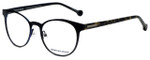 Jonathan Adler Designer Reading Glasses JA506-Black in Black 51mm