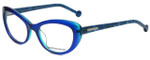 Jonathan Adler Designer Eyeglasses JA302-Blue in Blue 51mm :: Custom Left & Right Lens