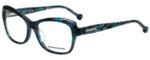 Jonathan Adler Designer Eyeglasses JA309-Teal in Teal 53mm :: Custom Left & Right Lens
