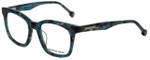 Jonathan Adler Designer Eyeglasses JA312-Aqua in Aqua 49mm :: Custom Left & Right Lens