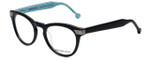 Jonathan Adler Designer Eyeglasses JA308-Black in Black 50mm :: Rx Single Vision