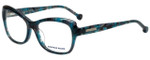 Jonathan Adler Designer Eyeglasses JA309-Teal in Teal 53mm :: Rx Single Vision