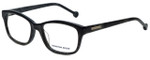 Jonathan Adler Designer Eyeglasses JA313-Black in Black 51mm :: Rx Single Vision