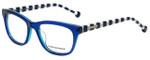 Jonathan Adler Designer Eyeglasses JA314-Blue in Blue 52mm :: Rx Single Vision