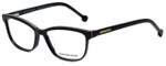 Jonathan Adler Designer Eyeglasses JA316-Black in Black 53mm :: Rx Single Vision