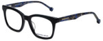 Jonathan Adler Designer Eyeglasses JA312-Black in Black 49mm :: Progressive