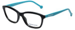 Jonathan Adler Designer Eyeglasses JA501-Black in Black 54mm :: Progressive