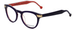 Jonathan Adler Designer Eyeglasses JA308-Purple in Purple 50mm :: Rx Bi-Focal