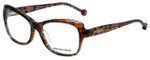 Jonathan Adler Designer Eyeglasses JA309-Brown in Brown 53mm :: Rx Bi-Focal