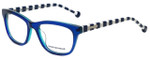 Jonathan Adler Designer Eyeglasses JA314-Blue in Blue 52mm :: Rx Bi-Focal
