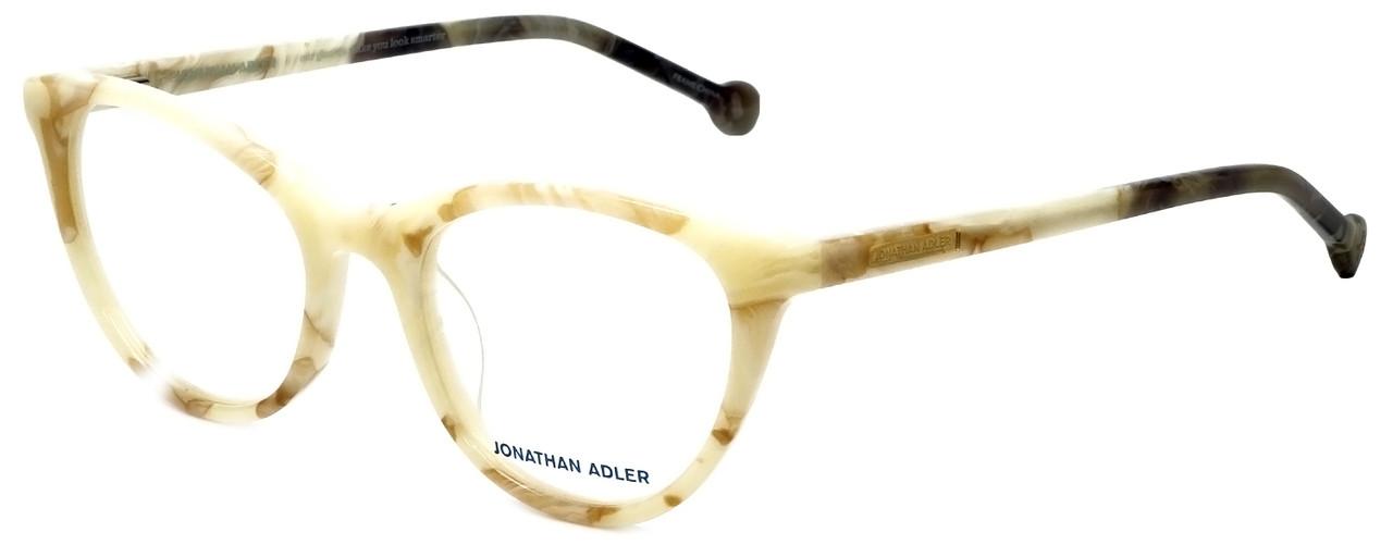fb0e87086b564 Jonathan Adler Designer Reading Glasses JA307-Bone in Bone 51mm ...