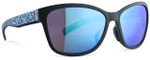 Adidas Designer Sunglasses Excalate in Matte Black & Blue Mirror Lens