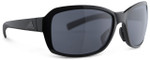 Adidas Designer Sunglasses Baboa in Black Shiny & Grey Lens