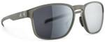 Adidas Designer Sunglasses Protean in Olive Matte & Chrome Mirror Lens
