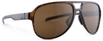 Adidas Designer Sunglasses Pacyr in Havanna Brown & Brown Lens