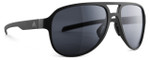 Adidas Designer Polarized Sunglasses Pacyr in Matte Black & Grey Lens