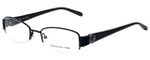 Jones New York Designer Eyeglasses J459-Black in Black 51mm :: Rx Single Vision