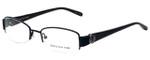 Jones New York Designer Reading Glasses J459-Black in Black 51mm