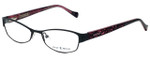 Lucky Brand Designer Eyeglasses Delilah-BLK in Black 52mm :: Rx Single Vision