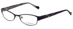 Lucky Brand Designer Reading Glasses Delilah-PURP in Purple 52mm