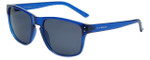Lucky Brand Designer Sunglasses D922 in Blue with Grey Lens