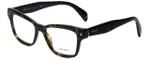 Prada Designer Eyeglasses VPR10S-2AU1O1 in Havana 51mm :: Rx Single Vision