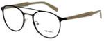 Prada Designer Eyeglasses VPR60T-LAH1O1 in Matte Brown 49mm :: Custom Left & Right Lens