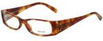 Prada Designer Eyeglasses VPR18H-4BW1O1 in Light Tortoise 52mm :: Rx Single Vision