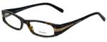 Prada Designer Eyeglasses VPR18I-2AU1O1 in Havana 52mm :: Progressive