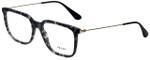 Prada Designer Eyeglasses VPR17T-VH31O1-55 in Grey Havana 55mm :: Rx Bi-Focal