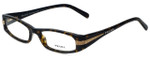 Prada Designer Eyeglasses VPR18I-2AU1O1 in Havana 52mm :: Rx Bi-Focal