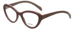 Prada Designer Eyeglasses VPR25R-TKP1O1 in Opal Pink 52mm :: Rx Bi-Focal