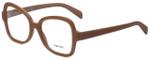 Prada Designer Eyeglasses VPR25S-UFF1O1 in Matte Pink 51mm :: Rx Bi-Focal
